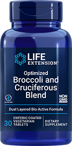 product image of bottle of broccoli and cruciferous blend