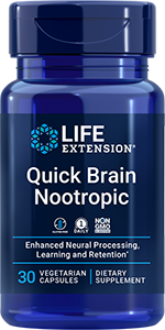 product image of bottle quick brain nootropic