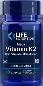 product image of bottle vitamin k2