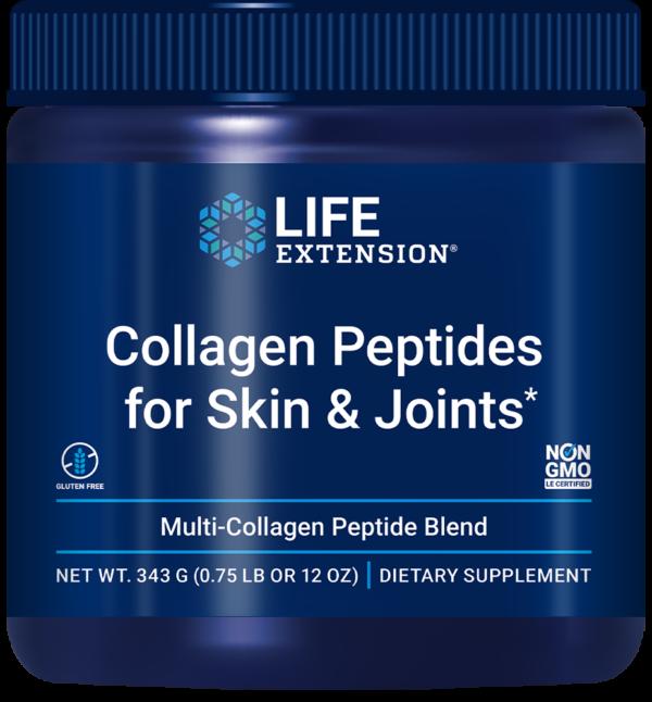 bottle of collagen peptides